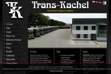 Trans Kachel Sp. z o.o. - Transport ciężarowy krajowy Sławno