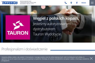 Przedsiębiorstwo Transportowo-Sprzętowe Budownictwa Transbud-Ełk Sp. z o.o. - Skład Węgla Suwałki