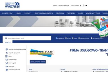 Firma Usługowo Transportowa Trans Car Barbara Pelc - Firma Transportowa Kosina