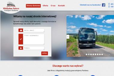 Transport Osobowy Tomera Władysław - Przewóz osób Krosnowice