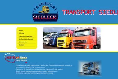 Usługi Transportowe Siedlecki Krzysztof - Transport busem Gierałcice