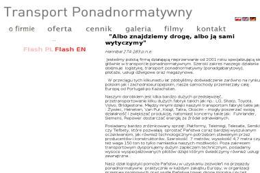PH Piwiński Tomasz - Transport ciężarowy krajowy Opole
