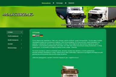 Transport Spedycja Międzynarodowa i Krajowa Jacek Majchrzak - Transport Towarowy Pleśno