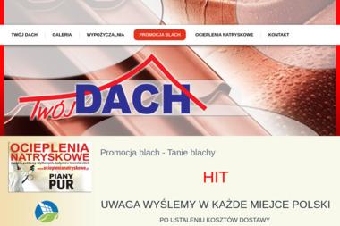 Hurtownia Budowlana Twój Dach Jacek Skrzypczyk - Montaż Okien Bełchatów