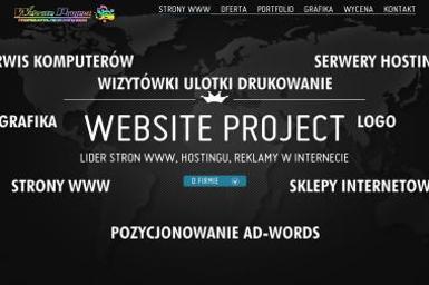 Website Project Biuro Projektowe. Projektowanie stron internetowych - Strony internetowe Siedlce