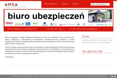 Biuro Ubezpieczeń eMKa Małgorzata Kalinowska. Ubezpieczenia na życie, ubezpieczenia nieruchomości - Ubezpieczenia Grupowe Bielawa
