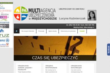 Multiagencja Ubezpieczeniowa Lucyna Kaźmierczak. Multiagencja ubezpieczeniowa, ubezpieczenie, - Ubezpieczalnia Międzychód