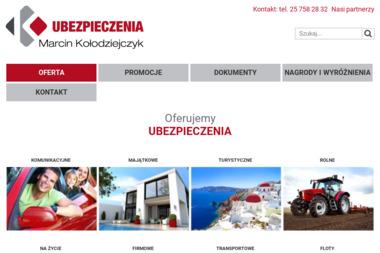 Ubezpieczenia Marcin Kołodziejczyk - Ubezpieczenia grupowe Mińsk Mazowiecki