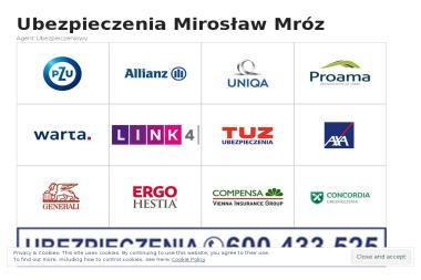 Ubezpieczenia Mirosław Mróz - Ubezpieczenie samochodu Tylmanowa