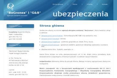 BeGronex - Ubezpieczenie samochodu Katowice