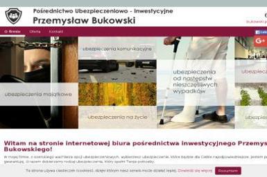 Bukowski Przemysław. Pośrednictwo Ubezpieczeniowo Inwestycyjne - Ubezpieczenie samochodu Maruszyna