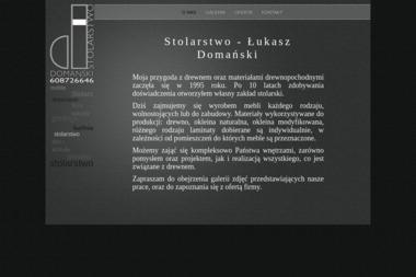 Stolarstwo Łukasz Domański - Stolarz Wyrzeka