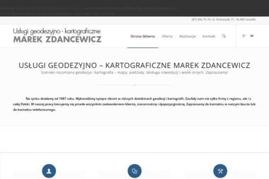 Usługi Geodezyjno Kartograficzne Marek Zdancewicz - Geodeta Suwałki