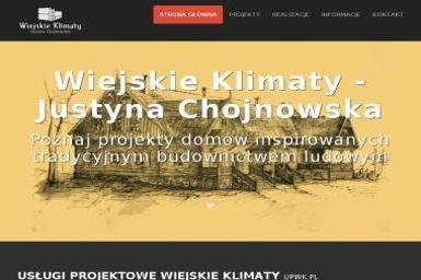 Chojnowska Justyna Wiejskie Klimaty - Nadzór budowlany Turośl
