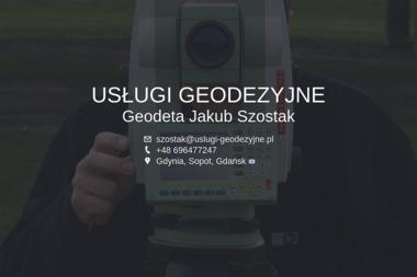 GeoSoft. Jakub Szostak - Usługi Geodezyjne Gdynia