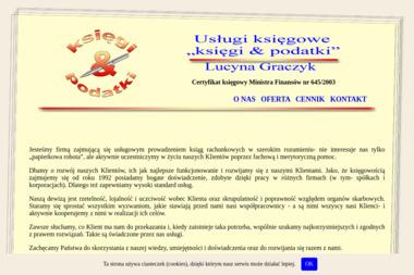 """Usługi księgowe """"księgi & podatki"""" - Finanse Tczew"""