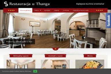 Restauracja Azjatycka Thu Do u Thanga - Usługi Gastronomiczne Jarosław