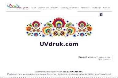 Uvdruk.com Agnieszka Węglowska-Król. Gadżety reklamowe - Reklama Nowy Sącz