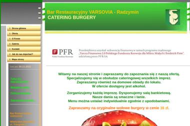 Bar Restauracyjny Varsovia. Catering, pieczenie prosiaka - Catering Radzymin