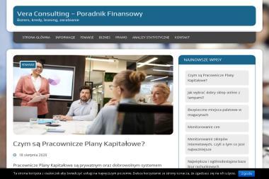 Licencjonowane Biuro Rachunkowe Vera-Consulting. Rozliczenia podatkowe, pit - Venture capital Nowa Dęba