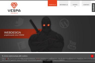 Vespa. Studio graficzne, strony www - Strony WWW Szamotuły
