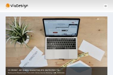 Via Design Agencja Kreatywna - Ulotki z Perforacją Zgierz