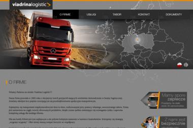Viadrina Logistic Sp.J.-Grudzień, Szymkiewicz,Walkowiak - Firma transportowa Słubice