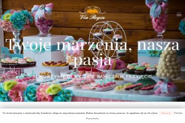 Via Regia Fontanny Czekoladowe - Catering Tarnów