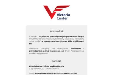 Victoria Center. Szkoła Języków Obcych - Kurs niemieckiego Wrząsowice