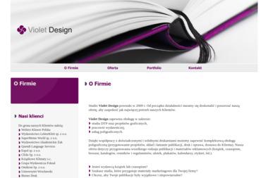 Violet Design Wioletta Kowalska - Drukarnia Wólka