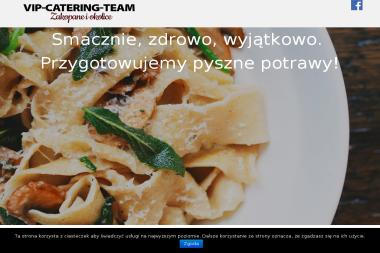 Vip-Catering-Team. Catering, obiady na telefon - Catering Zakopane