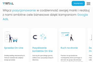 Virtal-Pozycjonowanie stron www - Linki sponsorowane, banery Gdańsk