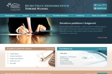 Doradca Podatkowy Tomasz Wandel - Biuro Usług Ekonomicznych - Finanse Giżycko