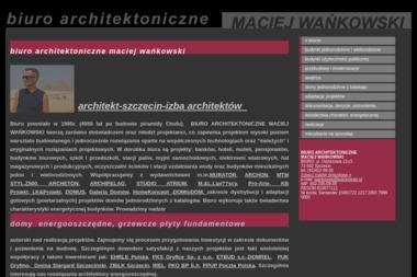 Biuro Architektoniczne Maciej Wańkowski - Projekty domów Przecław