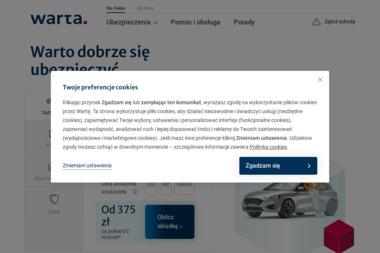 Towarzystwo Ubezpieczeń i Reasekuracji WARTA S.A. - Ubezpieczenie samochodu Sieradz