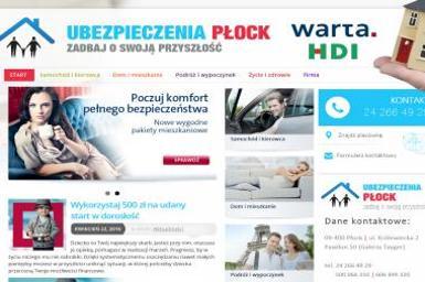 Biuro Ubezpieczeniowe T.U.I R. Warta - Ubezpieczenie samochodu Płock