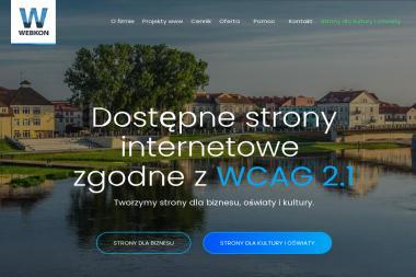 Webkon, Rojewski Mariusz - Projektowanie Stron WWW Brzeźno