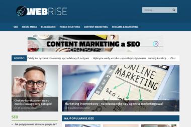 Webrise Bartłomiej Bankert. Strony www, strony internetowe - Strony internetowe Chojnice