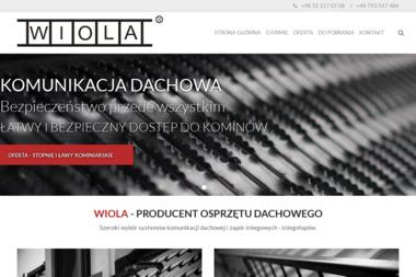 Wiola. Przedsiębiorstwo Produkcyjno-Handlowo-Usługowe Wiesław Ciaciura - Sprzedaż Materiałów Budowlanych Pszczyna