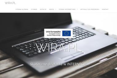 Wira Radosław Witek - Pozycjonowanie stron Brzozów