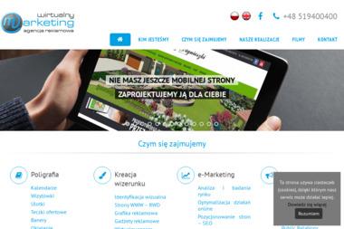 Wirtualny Marketing. Pozycjonowanie, tworzenie stron www - Pozycjonowanie stron Stalowa Wola
