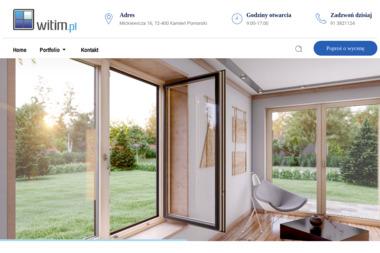 WITIM - okna, drzwi, bramy, rolety. Producent - Balustrady szklane Kamień Pomorski