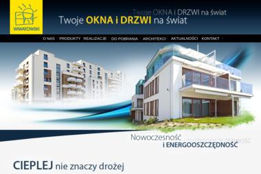 Wiwatowski Okna i Drzwi z Drewna - Okna z PCV Toruń