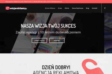 Agencja Reklamowa Wizja Reklamy Łukasz Milczak - Drukarnia Bełchatów