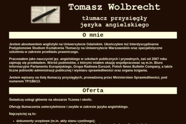 Igenart Tomasz Wolbrecht - Tłumacze Tczew