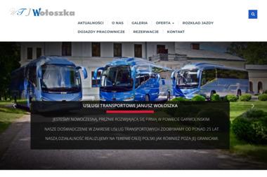 Usługi Transportowe Janusz Wołoszka. Wynajem autobusów, wynajem autokarów, wynajem busów - Transport Autokarowy Miastków Kościelny