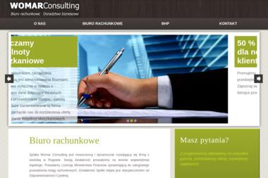 Womar Consulting Sp. z o.o. Rachunkowe, biuro - Biuro rachunkowe Jastrzębie-Zdrój