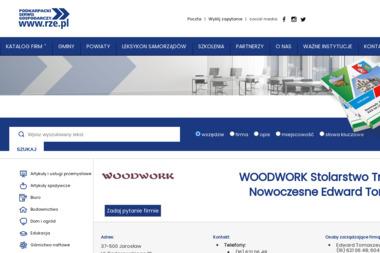 Woodwork Stolarstwo Tradycyjne i Nowoczesne. Edward Tomaszewski - Meble na wymiar Jarosław