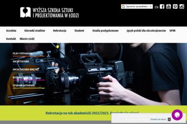 Wyższa Szkoła Sztuki i Projektowania w Łodzi - Projektowanie wnętrz Łódź