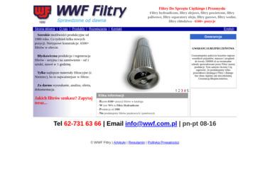 Wytwórnia Wkładów Filtracyjnych s.c. - Instalacje Kobyla Góra